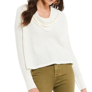 Free People Wildcat Thermal Top Ivory